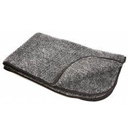 Pets & Leisure Double Thickness Sherpa Fleece Pet Blanket, Grey