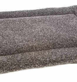 Pets & Leisure Superior Pet Bed Rectangular Fleece Cushion Pad, Silver Grey