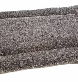 Pets & Leisure Superior Pet Beds Rectangular Fleece Cushion Pad, Silver Grey