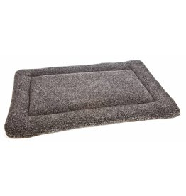 Pets & Leisure Superior Pet Bed Rectangular Fleece Cushion Pad, Silver Grey