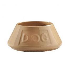 Mason Cash Cane Stoneware Lettered Dog Non Tip Spaniel Bowl, 21cm 8inch
