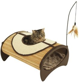 Rosewood Bamboo Cat Furniture Cat Pod