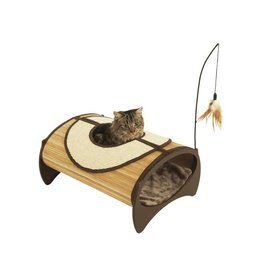 Rosewood Bamboo Cat Furniture Cat Pod & Bed