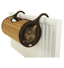 Rosewood Bamboo Cat Furniture Radiator Bed