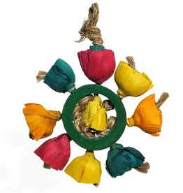 Rosewood Bamboozlers Bird Blossom Ring Medium - Large