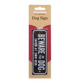 Rosewood Beware Signs, Beware Of The Dog