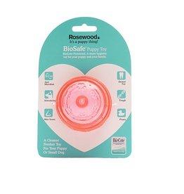 Rosewood BioSafe Germ Smart Pink Puppy Ball Toy