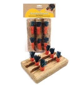 Rosewood Boredom Breaker Corn Wood & Sisal Toys Carrot Play Patch