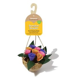 Rosewood Boredom Breaker Floral Hanging Basket Hamster Treat Toy