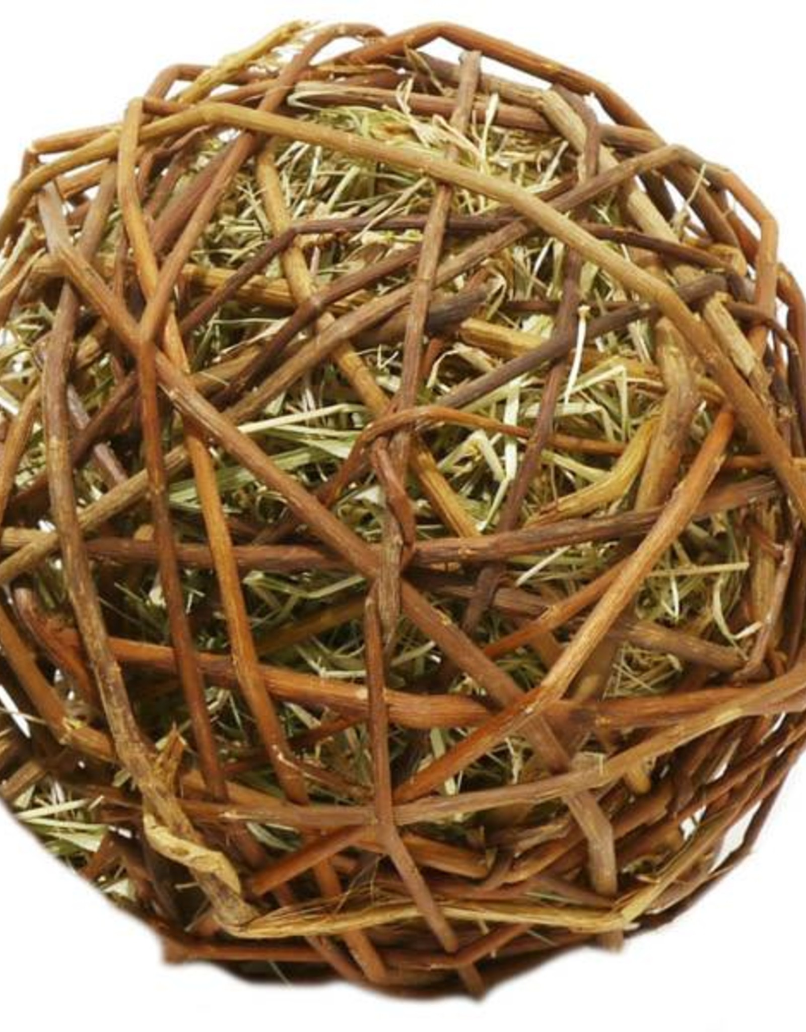 Rosewood Boredom Breaker Naturals Small Animal Edible Toy Weave A Ball, Large