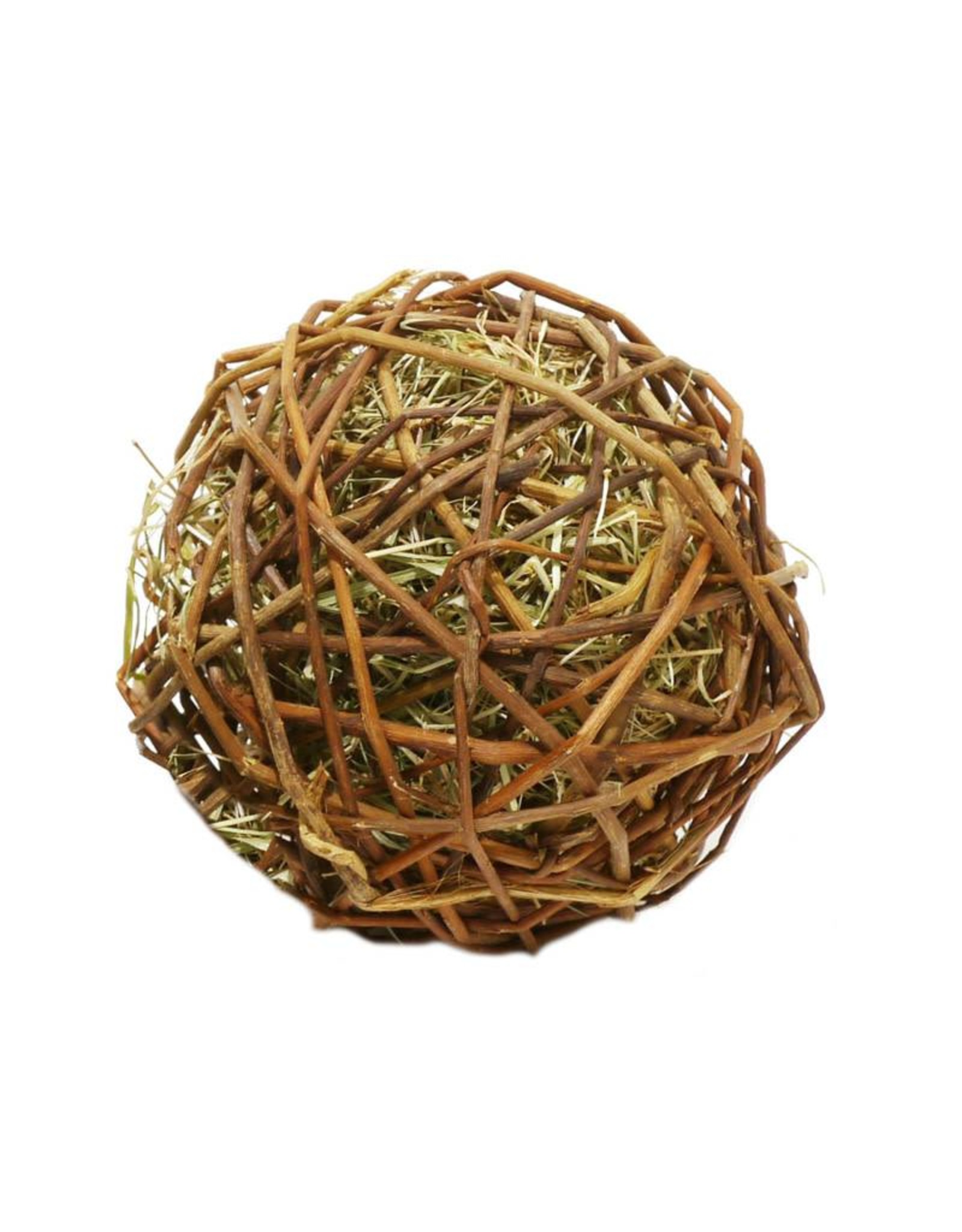 Rosewood Boredom Breaker Naturals Edible Weave A Ball Small Animal Toy, Large