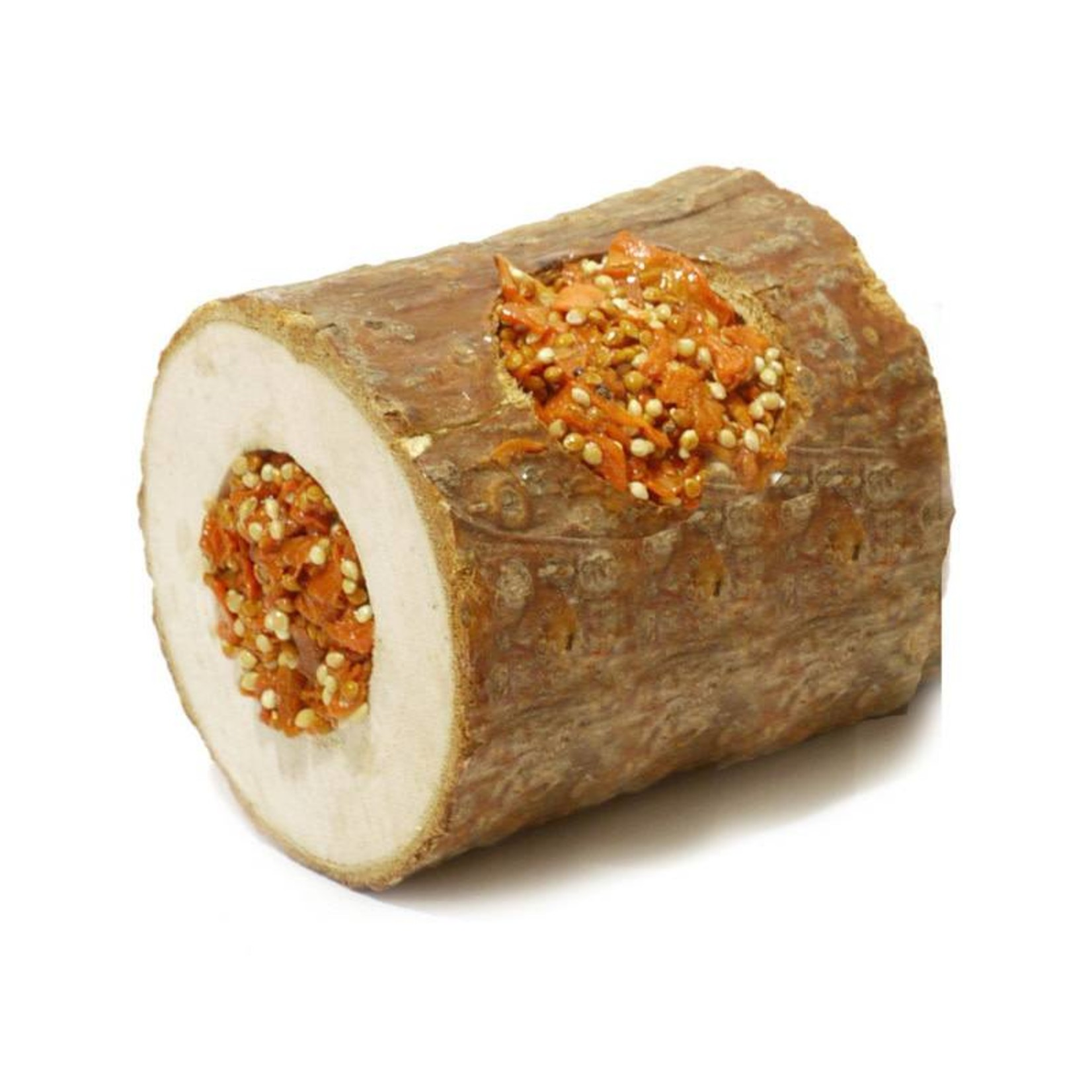 Rosewood Boredom Breaker Naturals Carrot Woodroll Small Animal Treat