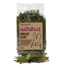 Rosewood Boredom Breaker Naturals Dandelion Delight Small Animal Treat, 100g