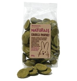 Rosewood Boredom Breaker Naturals Small Animal Treat Fenugreek Crunchies 200g