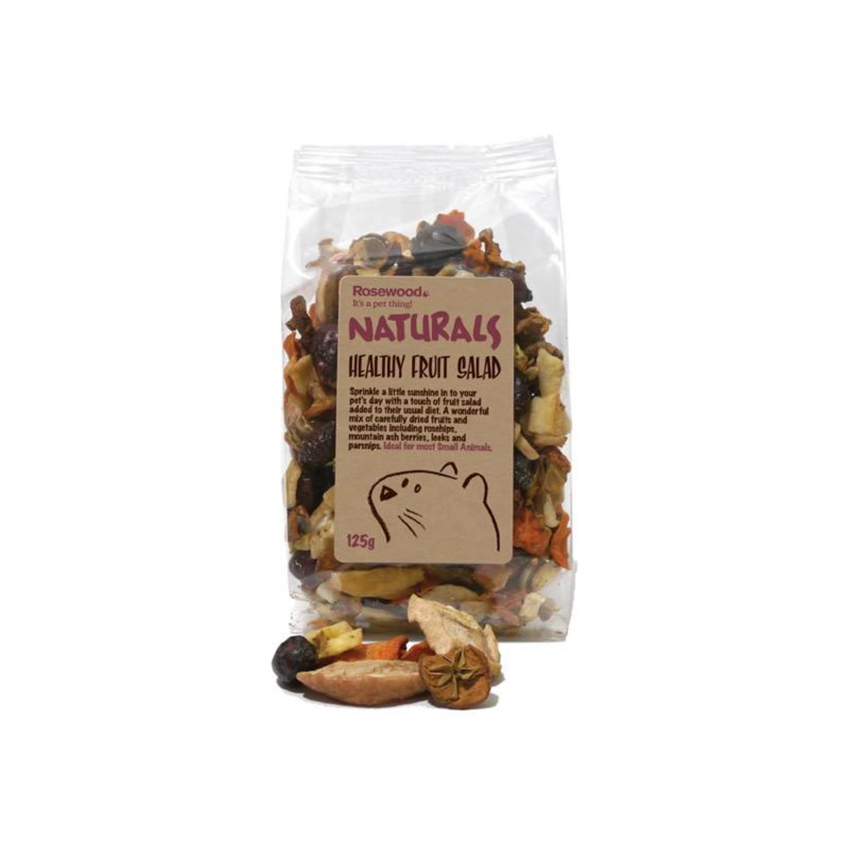 Rosewood Boredom Breaker Naturals Healthy Fruit Salad Small Animal Treats, 125g