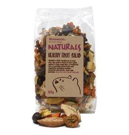 Rosewood Boredom Breaker Naturals Healthy Fruit Salad Small Animal Treats, 125g