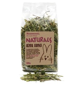 Rosewood Boredom Breaker Naturals Herbal Garden Small Animal Treat, 100g