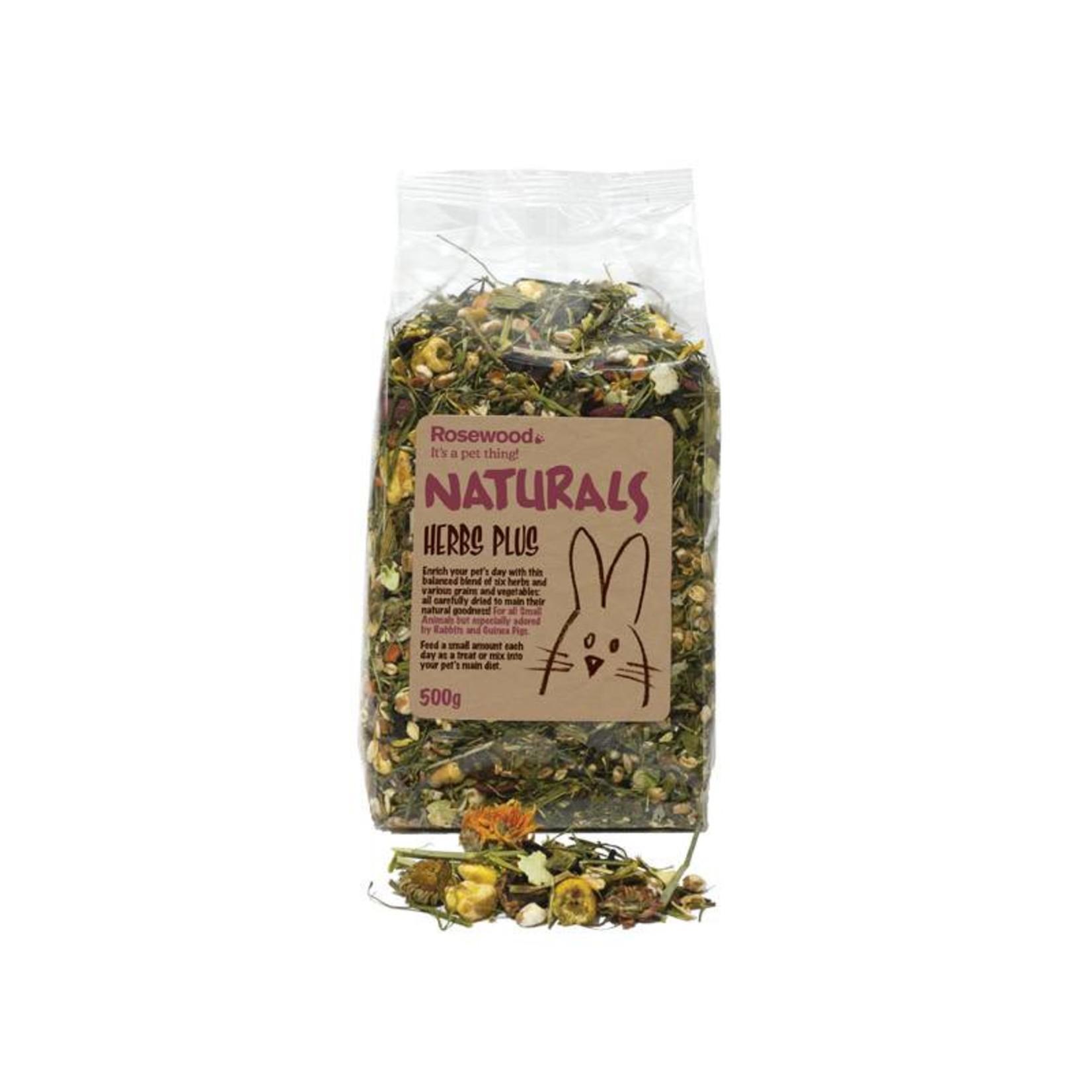 Rosewood Boredom Breaker Naturals Herbs Plus Small Animal Treat, 500g