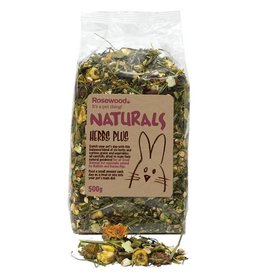 Rosewood Boredom Breaker Naturals Herbs Plus Small Animal Treat, 500g