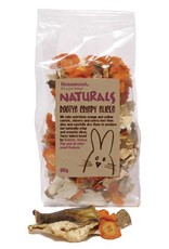 Rosewood Boredom Breaker Naturals Rootys Crispy Slices Small Animal Treat, 90g