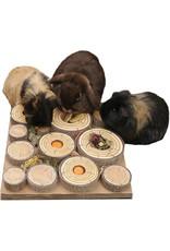 Rosewood Boredom Breaker Maze-a-log Treat Challenge  Small Animal Toy