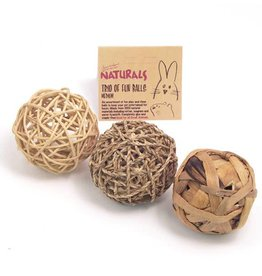 Rosewood Boredom Breaker Trio Of Fun Ball Small Animal Toy, Medium