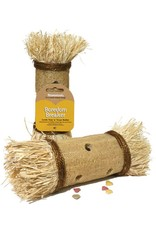 Rosewood Boredom Breakers Loofa Toss and Treat Roller Small Animal Chew Toy