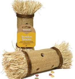 Rosewood Boredom Breakers Loofa Toss n Treat Roller Small Animal Chew Toy