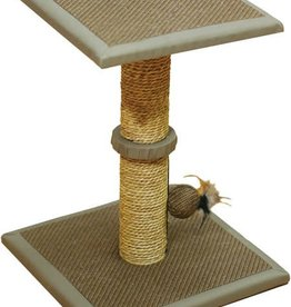 Rosewood Cat Scratching Post with Seagrass, Toronto