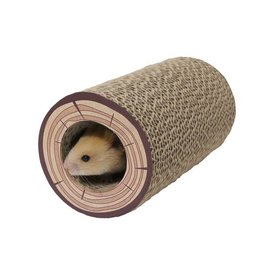 Rosewood Chew Tubes Shred A Log Corrugated Small Animal Tunnel