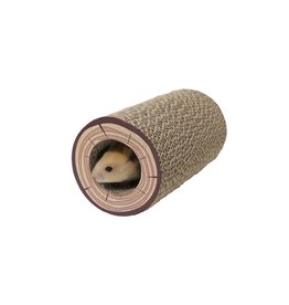 Rosewood Chew Tubes Shred A Log Corrugated Small Animal Tunnel, 18 x 9.5cm