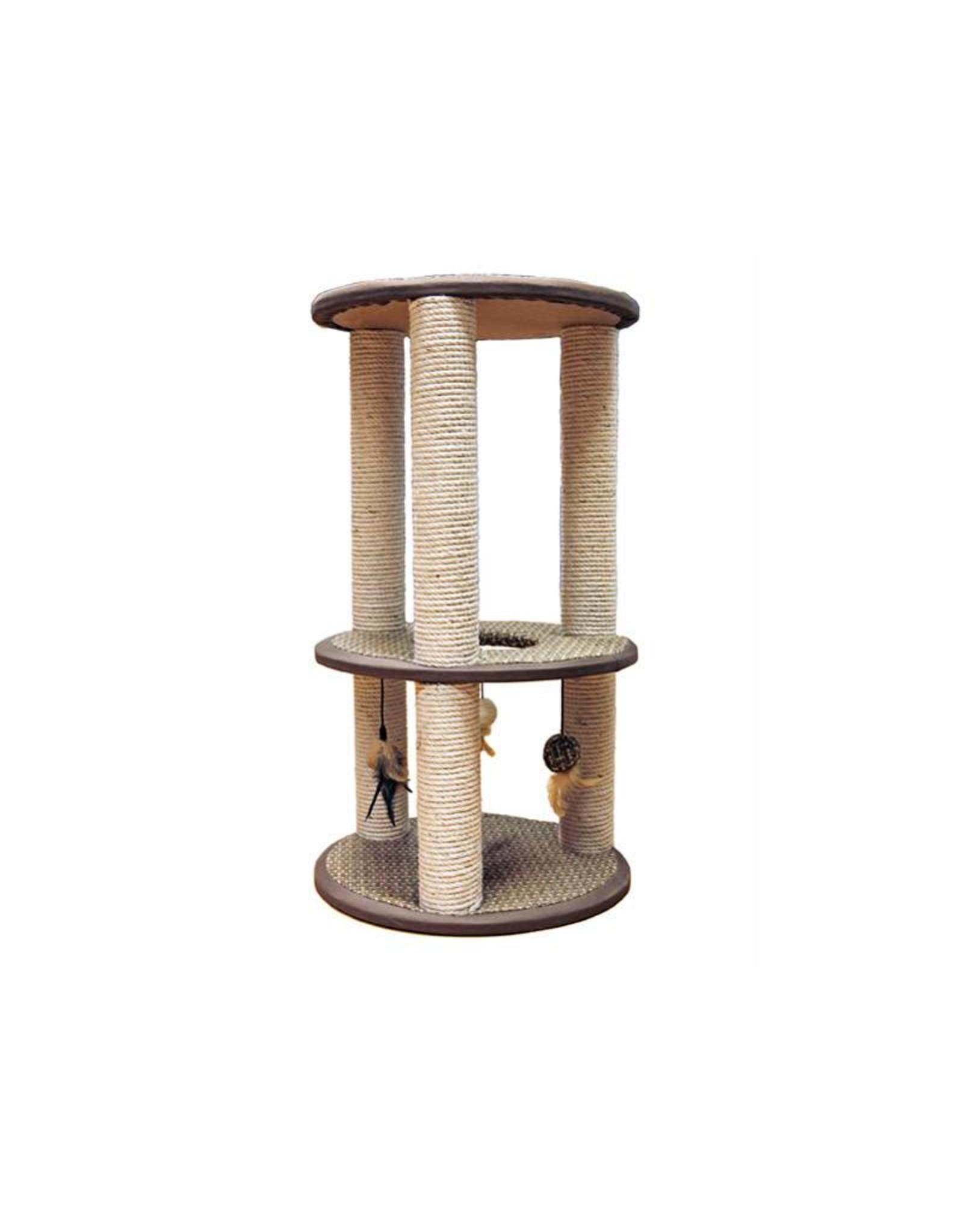 Rosewood Cinnamon 3 Post Cat Scratching Post