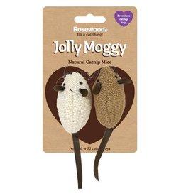 Rosewood Jolly Moggy Wild Catnip Cat Toys Mice
