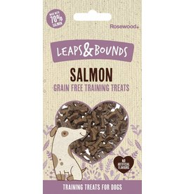 Rosewood Leaps & Bounds Grain Free Training Bites Salmon Dog Treats, 100g