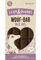Rosewood Leaps & Bounds Woof Choc Bar Dog Treat, 100g