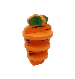 Rosewood Nibble Stix Woodies 3-D Carrot Small Animal Treat Chew