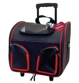 Rosewood Pet Travel Trolley, 37x27x33cm