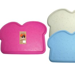 Rosewood Rubber Placemat Dog Design