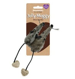 Rosewood Silvervine Cat Toy Mice 2 pack