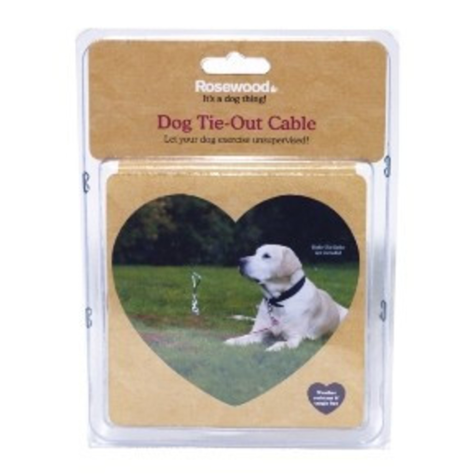 Rosewood Dog Tie Out Cable