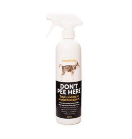 sharples Clean & Tidy Dont Pee Here Spray 500ml