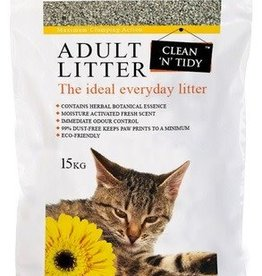 Sharples & Grant Clean N Tidy Cat Litter Adult Everyday Scented Bag 15kg