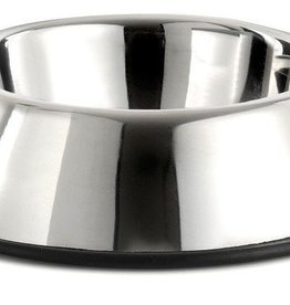 sharples Fed N Watered Stainless Dog Steel Bowl, 11cm, 180ml
