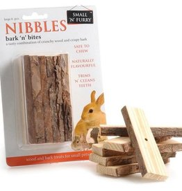 sharples Small N Furry Small Animal Bark Bites, 6 Large pieces