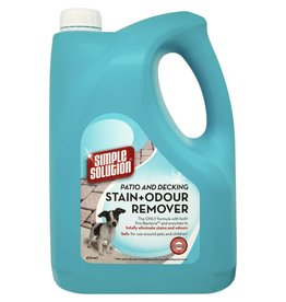 Simple Solution Patio & Decking Stain & Odour Remover, 4 Litres