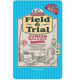 Skinners Field & Trial Junior Duck & Rice Dog Food
