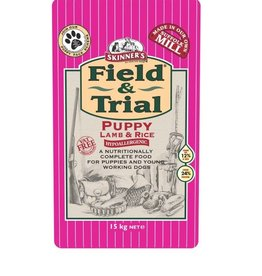 Skinners Field & Trial Puppy Food Lamb & Rice
