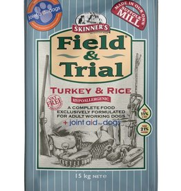 Skinners Field & Trial Turkey & Rice Dog Food