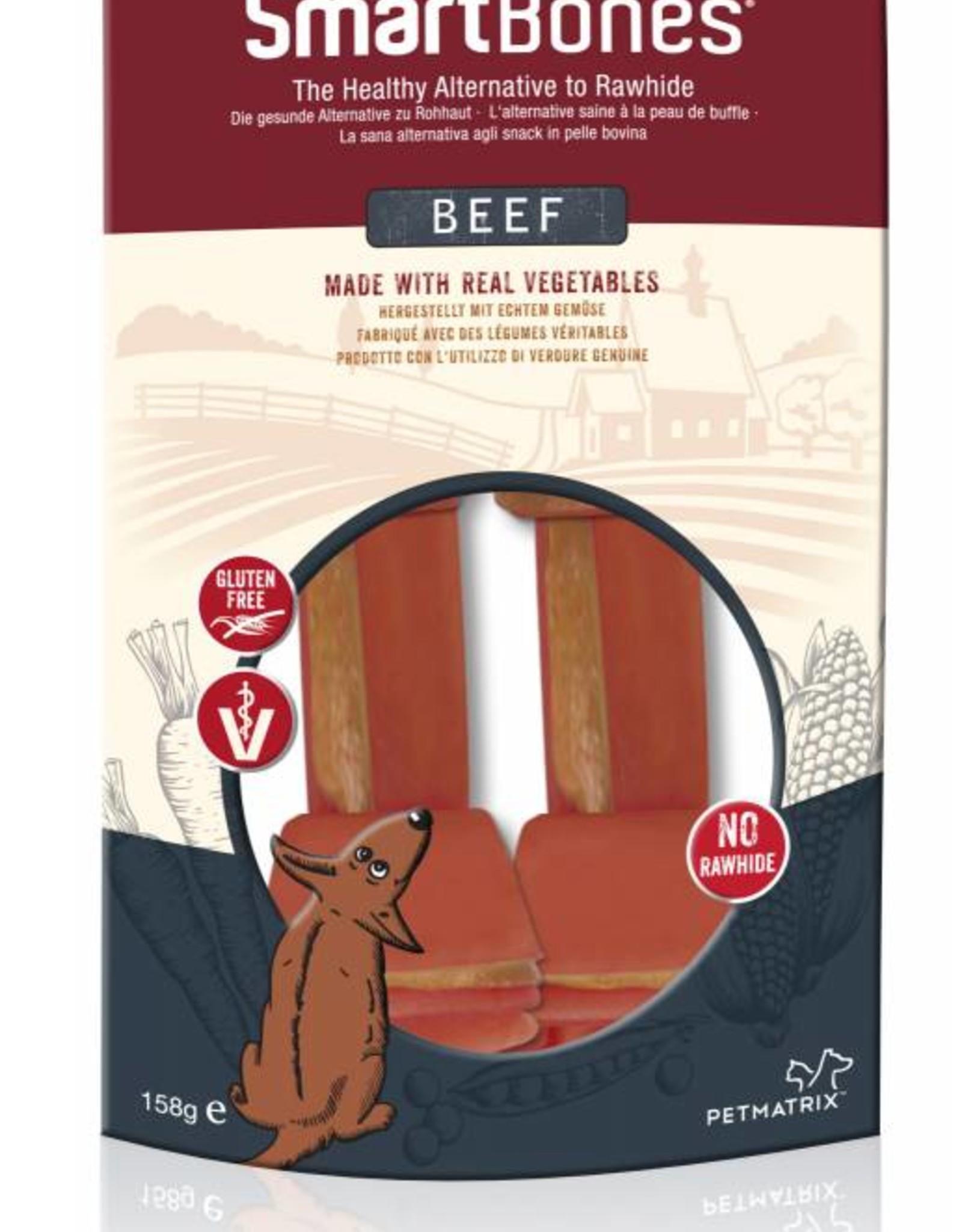SmartBones Beef Medium Bones Dog Treat, 2 pack