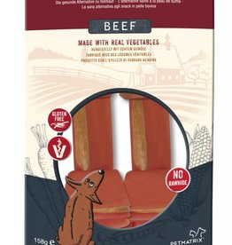 SmartBones Rawhide Alternative Beef Bones Dog Treats, Medium, 2 pack